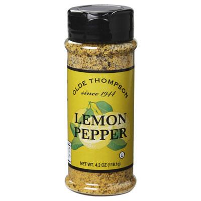 Olde Thompson 1700-04 Lemon Pepper, 4.2-oz Jar