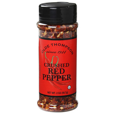 Olde Thompson 1700-14 Crushed Red Pepper, 2.0-oz Jar