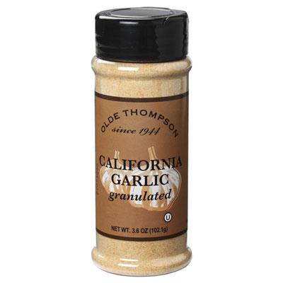 Olde Thompson 1700-18 Granulated Garlic, 3.6-oz Jar