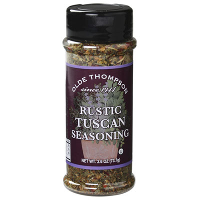 Olde Thompson 1700-33 Rustic Tuscan Seasoning, 2.6-oz Jar
