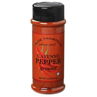 Olde Thompson 1700-34 Cayenne Pepper, 2.3-oz Jar