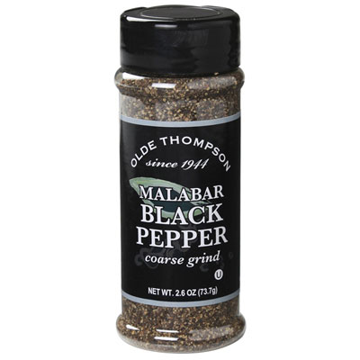 Olde Thompson 1700-52 Coarse Ground Pepper, 2.6-oz Jar