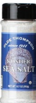 Olde Thompson 1700-57 Kosher Sea Salt, 6.7-oz Jar