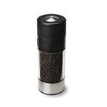 Olde Thompson 3027-28 6-in Tower Peppermill w/ Soft Grip & Black Pepper, Black