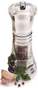 Olde Thompson 30392700 Peppermill/Salt Shaker Combo, Scandia, Clear Acrylic/Chrome