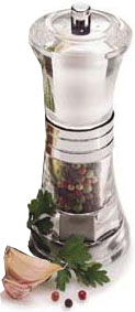 Olde Thompson 30392700 Peppermill/Salt Shaker Combo, Scandia, Clear Acrylic/Chrome