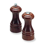 Olde Thompson 35700000 Peppermill/Salt Shaker Set, Statesman, Walnut Finish, 5-1/4 in