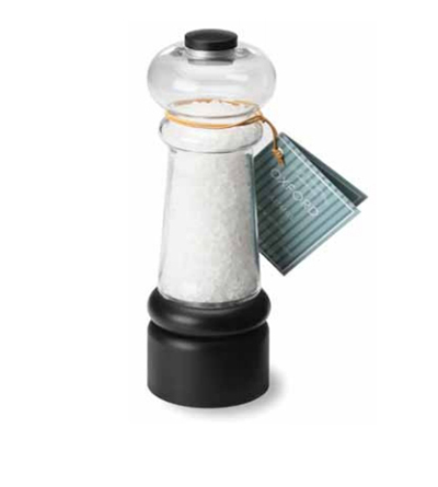 Olde Thompson 3885-00 7.25 Oxford Salt Mill w/ Sea Salt, ...