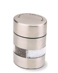 "Olde Thompson 5080-00 Salt & Pepper Mill Combination, 4"", Stainless, Filled"