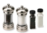 Olde Thompson 5965-90 Maxwell Pepper Mill &  Salt Mill Set w/ Refill, 6-in