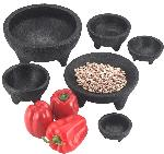 "HS Inc HS1008 Molcajete, 4 oz., 3""Diameter x 1.5""Deep"