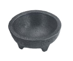 HS Inc NHS1008CH 4-oz Molcajete Chico, 3 x 1.5-in, Polypropylene, Charcoal