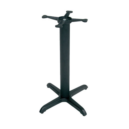 """John Boos 2025B40 30"""" Table Base for 36-42"""" Tops - 18"""" Spider Size, 40"""" H, Cast Iron"""