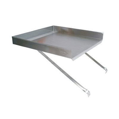 """John Boos BDDS8-1821 Detachable Drain Board for 18 x 21"""" Budget Sink, Stainless"""