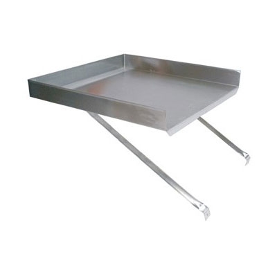 John Boos BDDS8-18 Detachable Drain Board for 18 x 18-in Budget Sink, Stainless