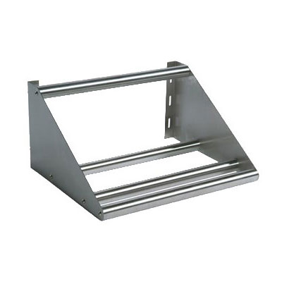 John Boos BHS1822-TS Tubular Sorting Shelf, Wall Mount, 18-ga Stainless, 22 x 18""
