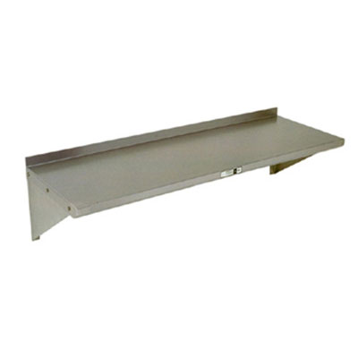 "John Boos BHS5246 5x24"" Wall Shelf - 16-ga Stainless"