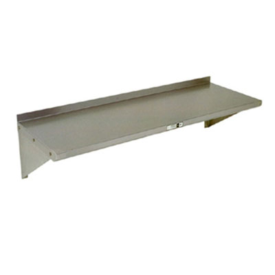 "John Boos BHS5366 5x36"" Wall Shelf - 16-ga Stainless"