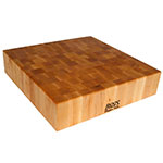 "John Boos CCB18-S Chopping Block, 18 x 18"", 4"" Hard Rock Maple End Grain"