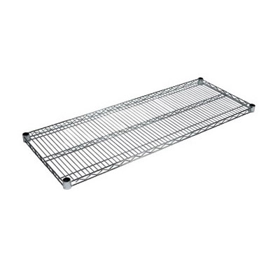 John Boos CS-1448 Chrome Wire Shelf - 14x48""
