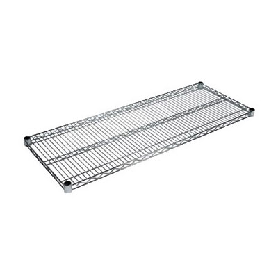 John Boos CS-1872 Zinc-Based Epoxy Coated Shelving Can w/ 800-lb Capacity, 18 x 72-in, Chrome Post