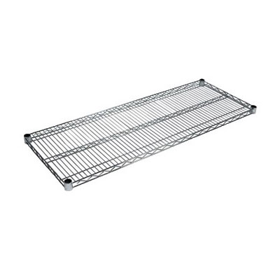 John Boos CS-1842 Chrome Wire Shelf - 18x42""