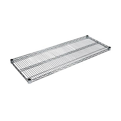 John Boos CS-2124 Chrome Wire Shelf - 21x24""