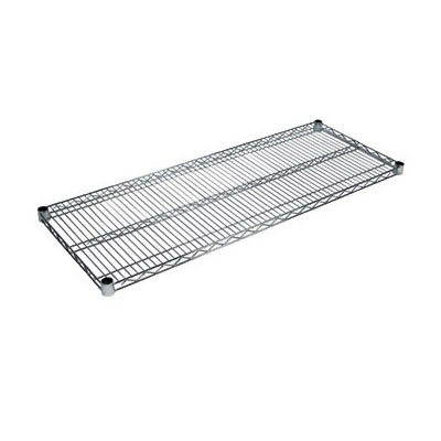 John Boos CS-2424 Chrome Wire Shelf - 24x24""