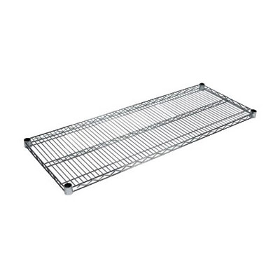John Boos CS-2442 Chrome Wire Shelf - 24x42""
