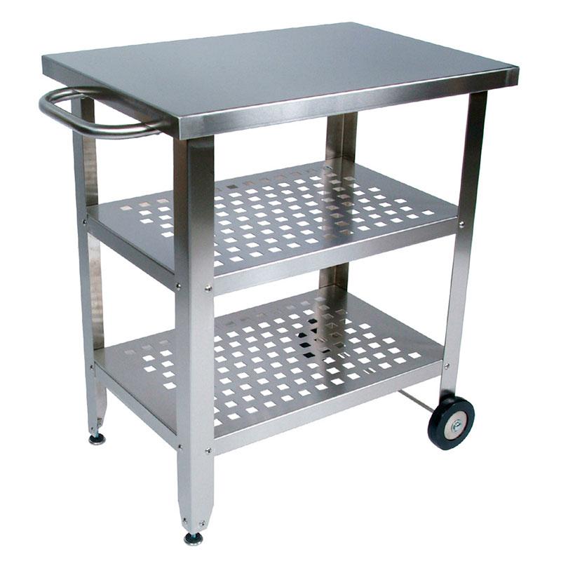 John Boos CUCAV02 Cucina Avanti Cart, 20 x 30 x 35 in H, Stainless Base, 1.5 in Stainless Steel Top
