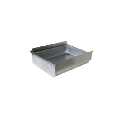 "John Boos DR2015-W Drawer for Wood Tables - Roller Bearings, 15x20x5"", Stainless"