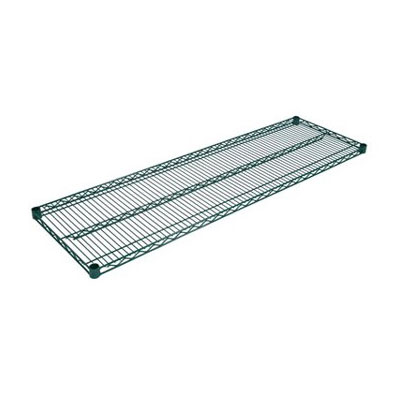 John Boos EPS-1430-G Zinc-Based Epoxy Coated Shelving Can w/ 800-lb Capacity, 14 x 30-in, Green Post