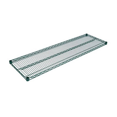 John Boos EPS-1460-G Epoxy Coated Wire Shelf - 14x60""