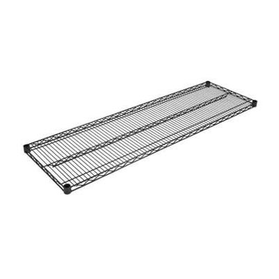 John Boos EPS-1872-BK Epoxy Coated Wire Shelf - 72x18""