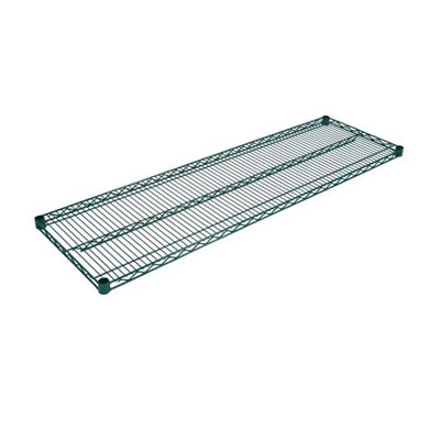 John Boos EPS-2136-G Epoxy Coated Wire Shelf - 21x36""