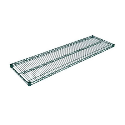 John Boos EPS-2448-G Epoxy Coated Wire Shelf - 24x48""