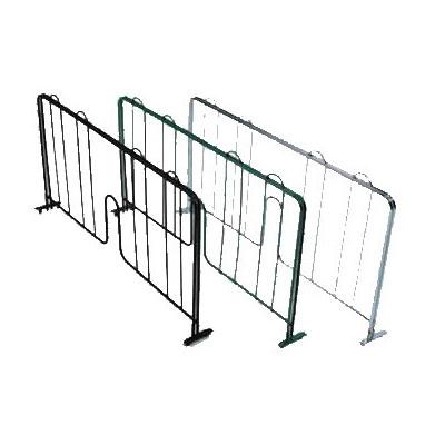 "John Boos EPS-D21-G Wire Shelving Divider - 21"" x 8"", Green"