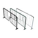 "John Boos EPS-D24-G Wire Shelving Divider - 24"" x 8"", Green"