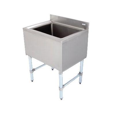 "John Boos EUBIB-12-4821 Underbar Insulated Ice Bin w/ Galvanized Legs, 48 x 21"""