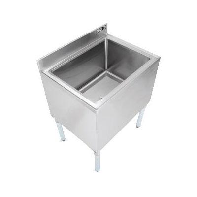 "John Boos EUBIB-2421CP7 Underbar Ice Bin - 7-Circuit Cold Plate, Insulated, 24x21x30"", 18-ga Stainless"