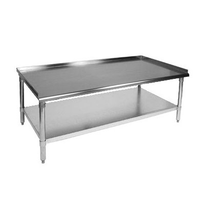 "John Boos GS6-3015SSK Equipment Stand - 15x30x24"", 18-ga Stainless"