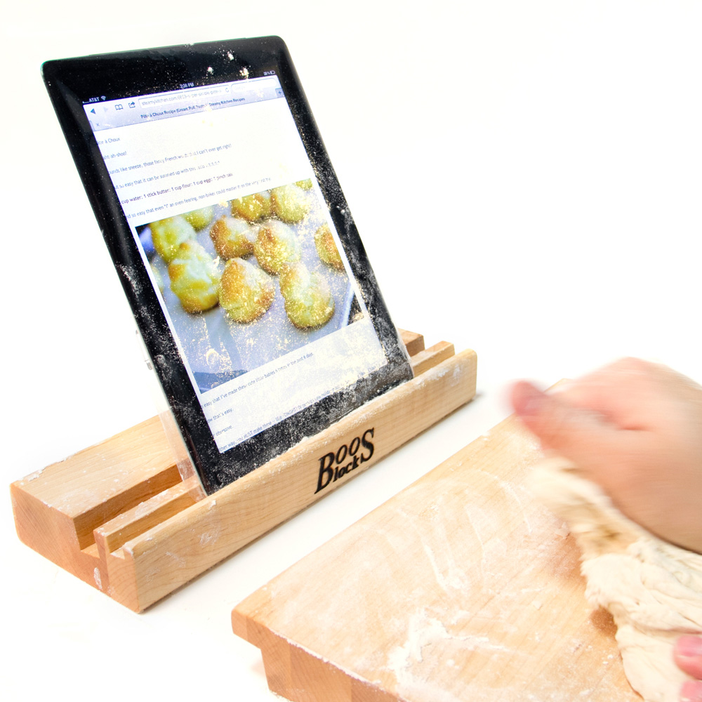 John Boos I-BLOCK Maple Cutting Board w/ Tablet Stand