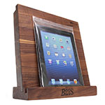 John Boos I-BLOCK-W Walnut Cutting Board w/ Tablet Stand