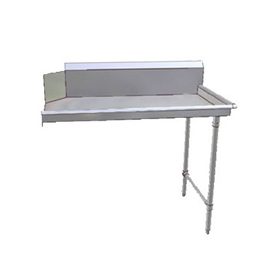 "John Boos JDTC-20-26R 26"" Clean Dishtable w/ 16-ga Stainless Legs, R to L"