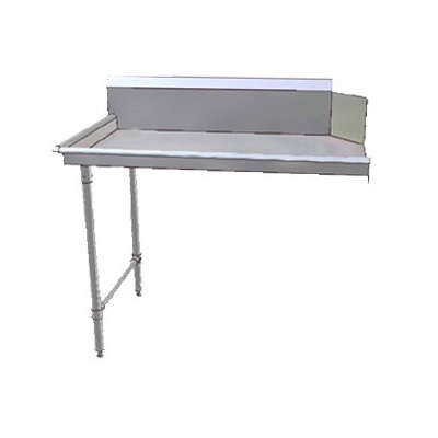 John Boos JDTC-20-60L 60-in Clean Dishtable w/ 16-ga Stainless Legs, L to R