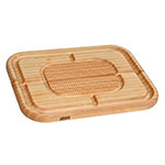 "John Boos MN2418150-SM Carving Collection Board w/ Grooves, Grips & Pan, 18x24x2.25"", MN Maple"