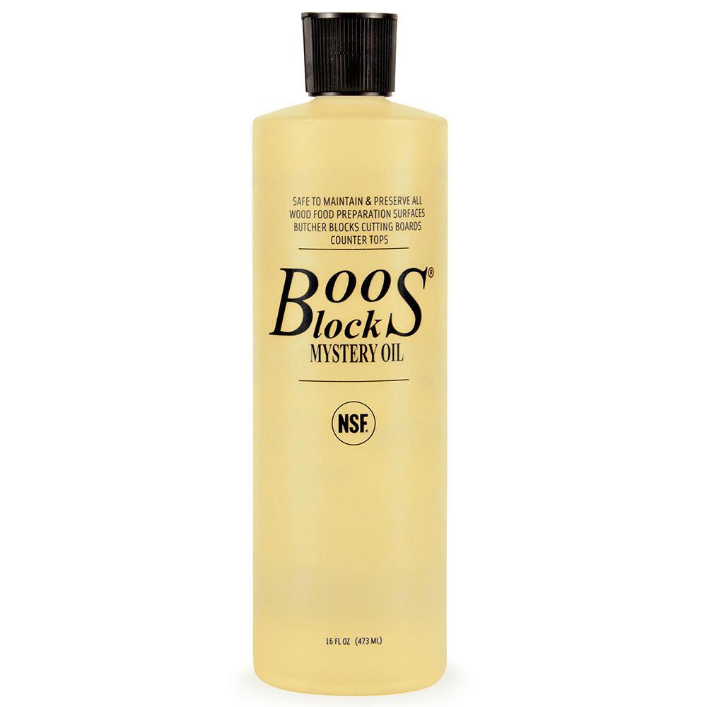 John Boos MYS-3 Boos Mystery Oil, 15 oz, NSF, for Oiled Finish Wood Tops