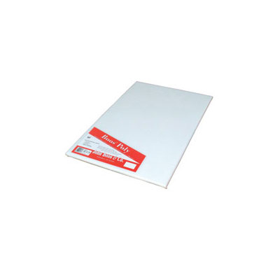 John Boos P1037 Cutting Board, Reversible Poly, Shrink Wrapped, 15x20x.75-in, White