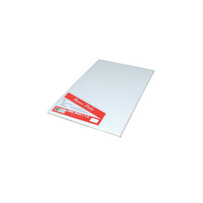 "John Boos P1038 Cutting Board, Reversible Poly, Shrink Wrapped, 18x24x.75"", White"