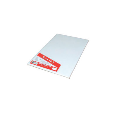 "John Boos P1089 Cutting Board, Reversible Poly, Shrink Wrapped, 12x18x.5"", White"